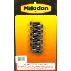 Kit visserie collecteur d'échappement Milodon 84542