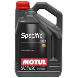 Motul Specific 948B 5W20 - 5 Litres