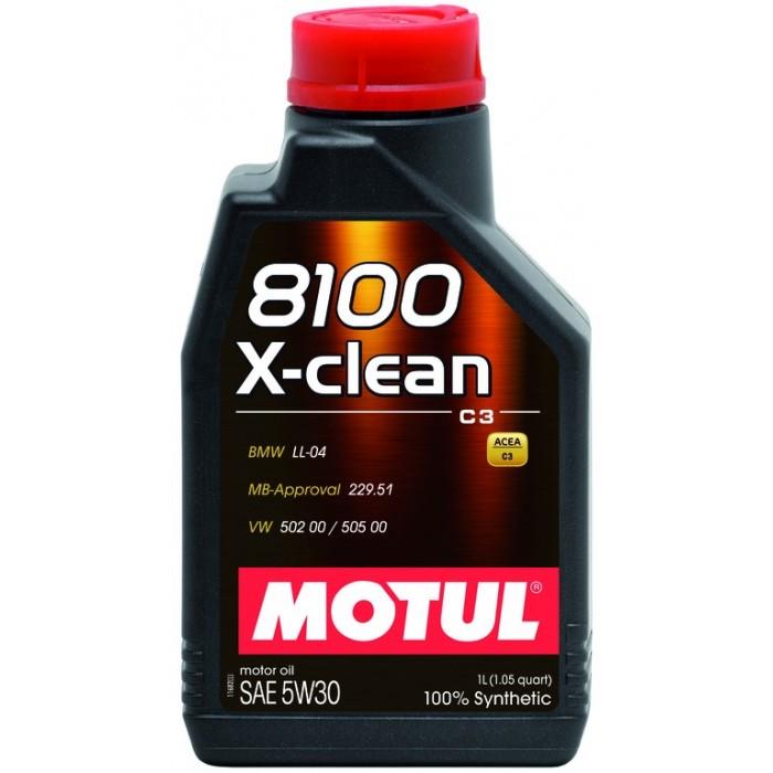 Motul 8100 X-clean 5W30