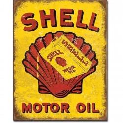 Plaque déco Shell Motor Oil - édition limitée