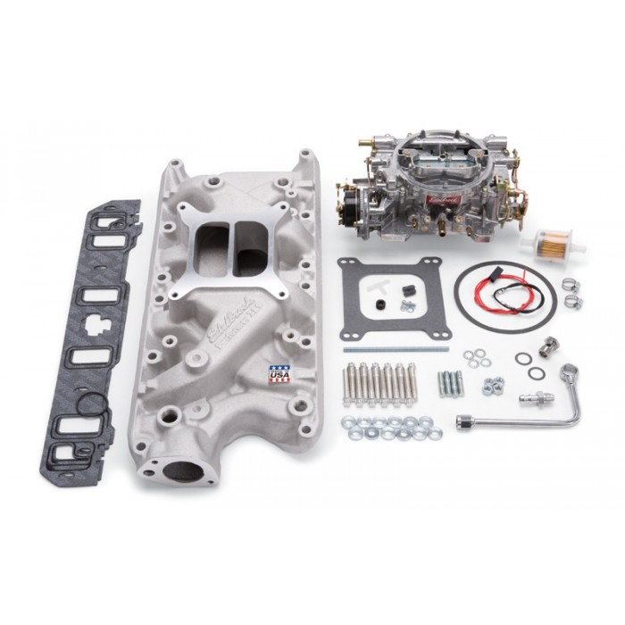 Admission + carburateur Edelbrock 2031- Ford 289/302ci