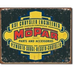 Plaque déco Mopar parts and accessories