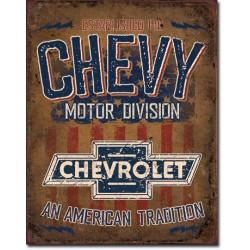 Plaque déco Chevy - American Tradition