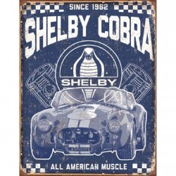 Plaque déco Shelby Cobra - American Muscle