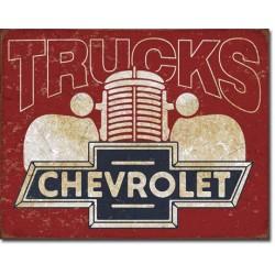 Plaque déco Chevy Trucks 40s
