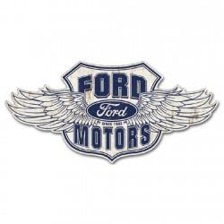 Plaque déco Logo Ford Ailes