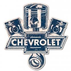 Plaque déco pistons Chevy