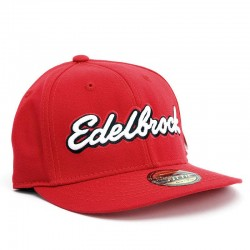 Casquette Edelbrock rouge, Taille M