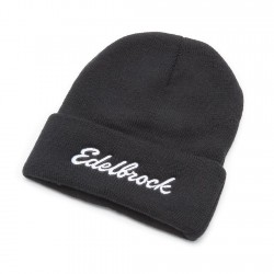 Bonnet noir logo Edelbrock