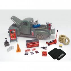Set d'accessoires automobiles miniatures