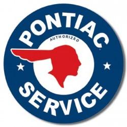 Plaque déco Pontiac Service
