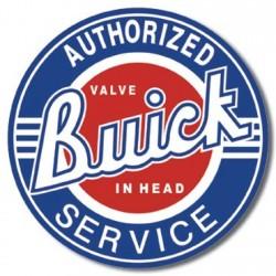 Plaque déco Buick Service