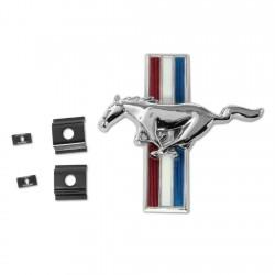 "Logo ""Running Pony"" de calandre Mustang 66 Scott Drake S2MS-8202-K"