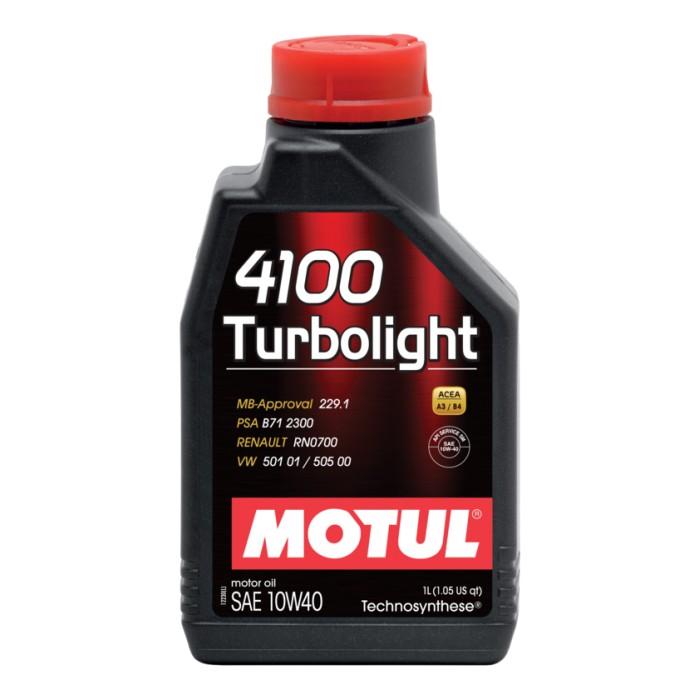 Motul 4100 Turbolight 10w40 1L