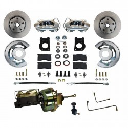 Kit frein à disques avant Leed Brakes FC0001-H405A - Mustang 64-66