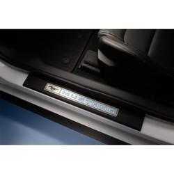 Plaques de seuil de porte illuminées Mustang FR3Z-63132A08-AA