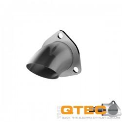 """Sortie inox 2.5"""" pour cutout QTP 11250"""