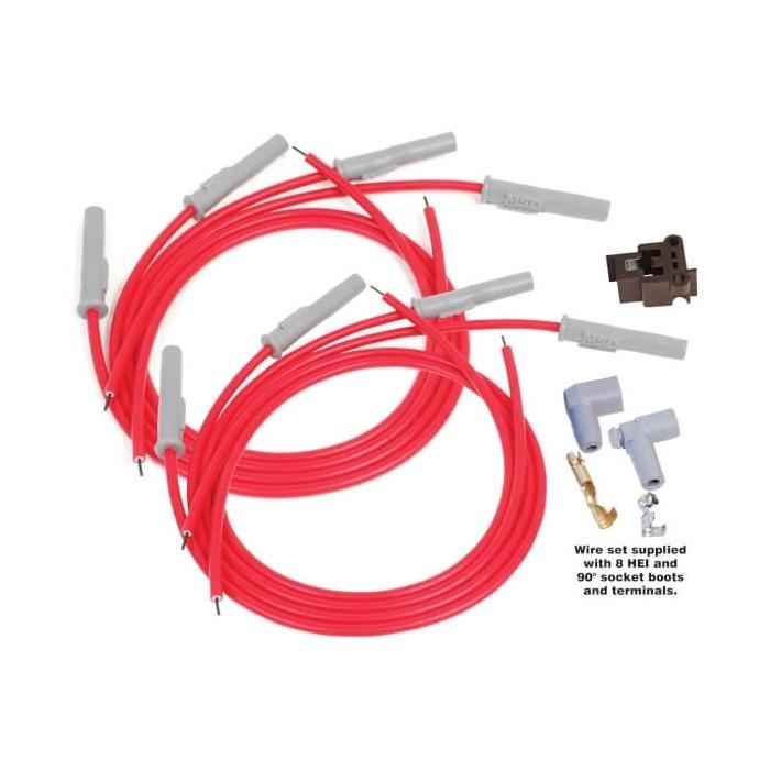 Kit fils de bougies Super Conductor MSD 31199 - Universel