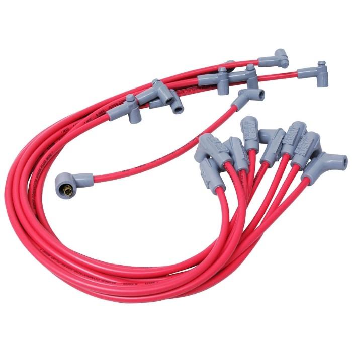 Kit fils de bougies MSD Super Conductor 35599 -SBC