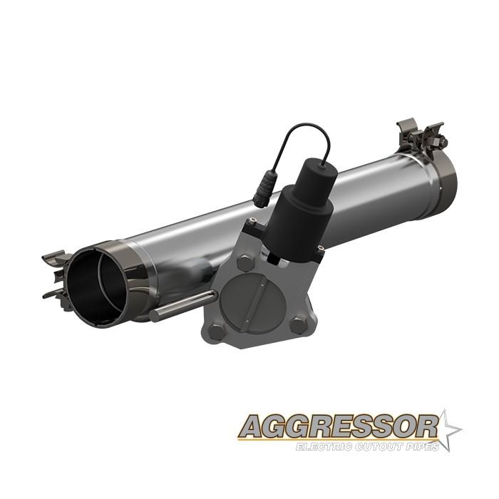 Kit cutout Agressor QTP 520009 - Ram 09-18