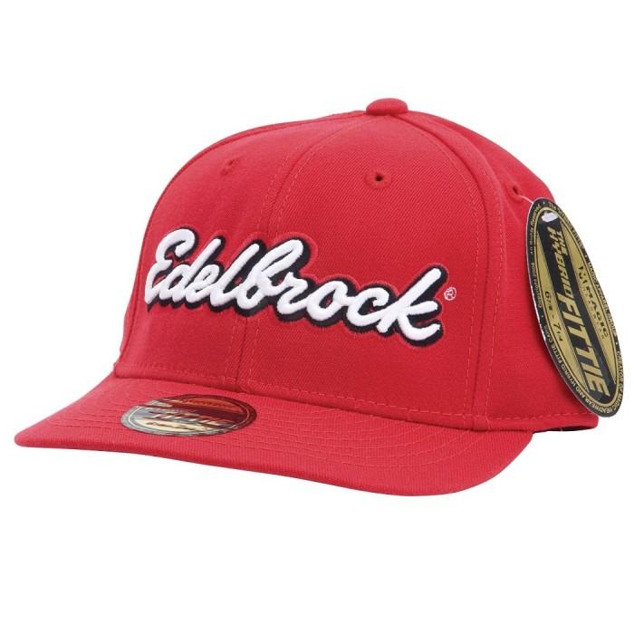 Casquette Edelbrock rouge L/XL 9154