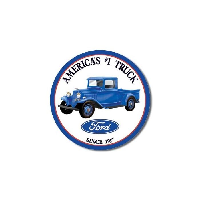 Plaque déco Ford Trucks