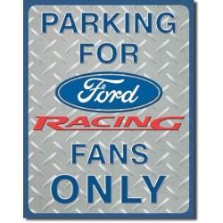 Plaque déco Ford Racing Parking - édition limitée