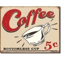 Plaque déco Coffee 5cts