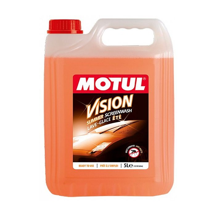 Nettoyant lave-glace anti-insectes Motul Vision Summer