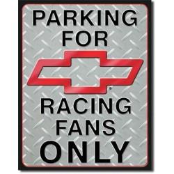 Plaque déco Chevy Racing Parking - édition limitée