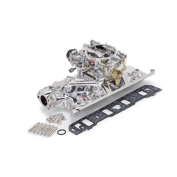 ADMISSION + CARBURATEUR EDELBROCK 20314 - FORD 289/302CI