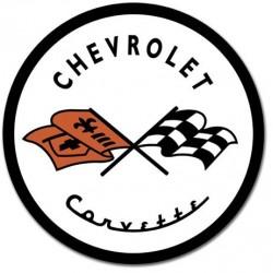 Plaque déco Corvette