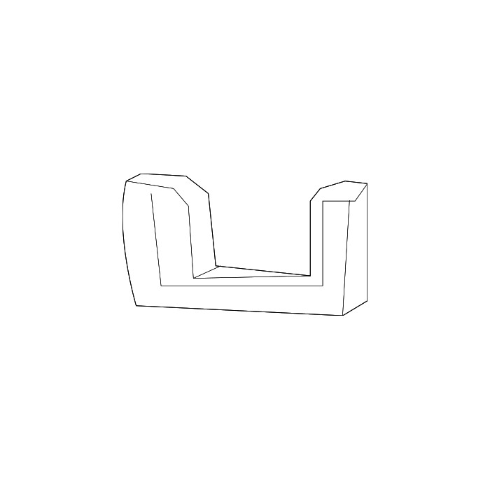 Support arrière de logo de calandre GM 22829512 - Camaro 14-15