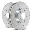 Jeu de disques de frein Power Stop AR8261XPR - Corvette 97-13