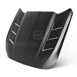 Capot Fibre de Verre Anderson Composites AC-HD15FDMU-SA-GF