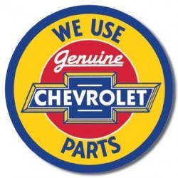 Plaque déco Chevy Geniune Parts