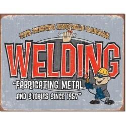 Plaque déco BKG - Welding