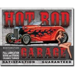 Plaque déco Hot Rod Garage