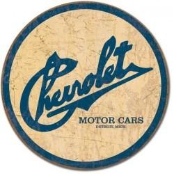Plaque déco Chevrolet Historique logo