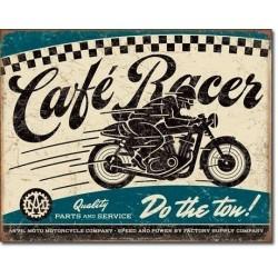 Plaque déco Cafe Racer