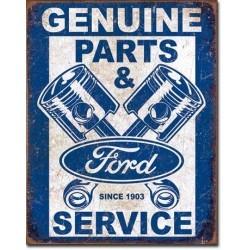 Plaque déco Ford Service