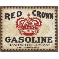 Plaque déco Red Crown