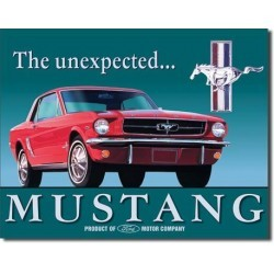 Plaque déco Mustang The unexpected