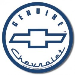 Plaque déco Geniune Chevrolet