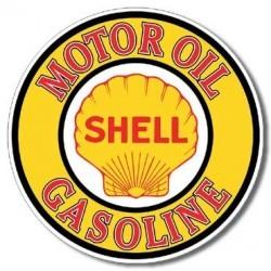 Plaque déco Shell Gas & Oil - édition limitée