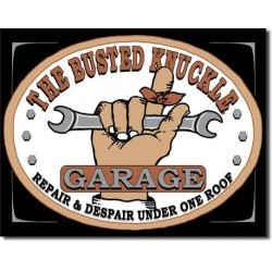 Plaque déco Busted Knuckle Garage