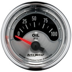 Manomètre de pression d'huile Autometer American Muscle 1226