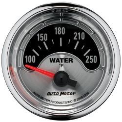 Manomètre de température d'eau Autometer American Muscle 1236