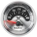 Manomètre de température d'huile Autometer American Muscle 1248