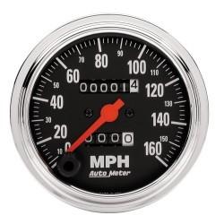 Compteur de vitesse Autometer Chrome 2494